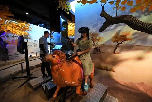 丝路盛景:VR骆驼骑行