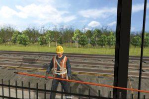 上海市铁路维管处接挂地线VR培训