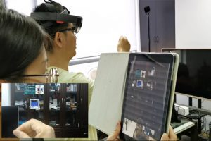 iPad实现HoloLens第三方视角观看并操控