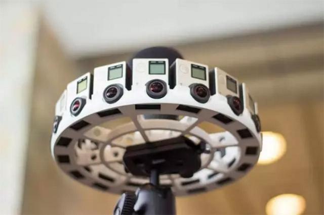 VR全景视频拍摄相机