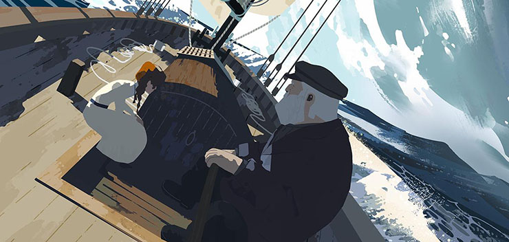 VR动画Age of Sail
