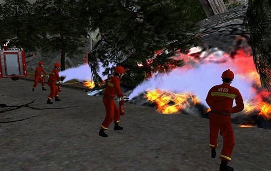 VR消防培训