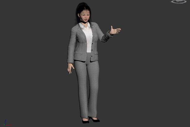 VR场景中的人物表情、动作动画制作