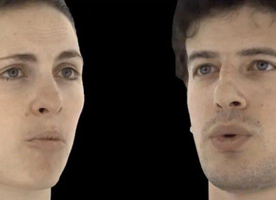 VR虚拟化身的逼真眼神、表情组合