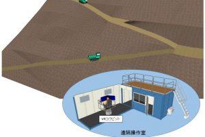 日本开发无人化施工VR技术