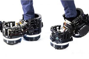 VR脚步控制器——机械靴