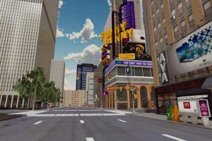 WebGL城市漫游